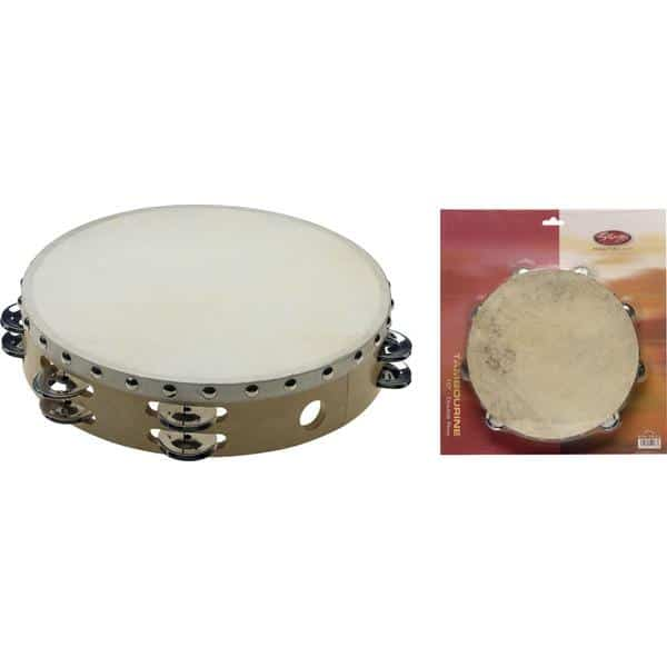 Tambourine 10 inch With Head-0