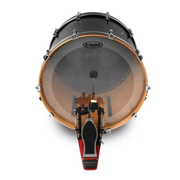"""Evans EQ4 Clear 26"""" Bass Drum Head"""
